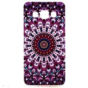 GX Teléfono Móvil Samsung - Cobertor Posterior - Gráfico/Puntos Redondos/Dibujos Animados - para Samsung Galaxia A3 ( Multi-color , TPU )