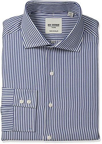 ben-sherman-mens-slim-fit-dobby-stripe-spread-collar-dress-shirt-royal-15-neck-32-33-sleeve