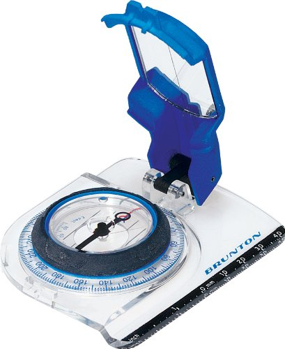 (Brunton Brunton O.S.S. 50M Mirrored Compass with Clinometer)