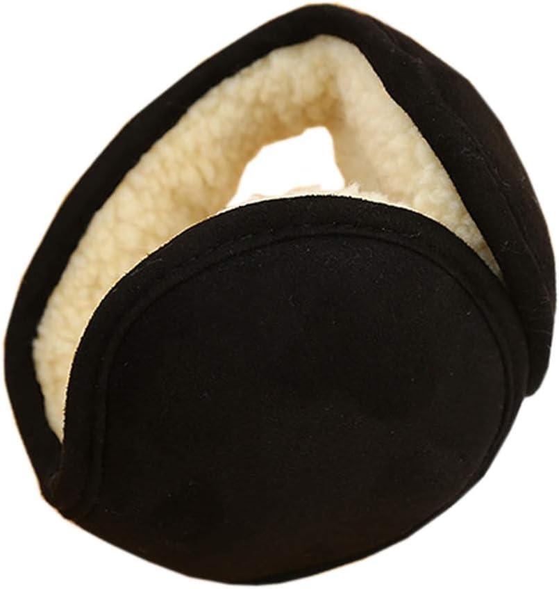 Amorar Ohrenw/ärmer Faltende Ohrensch/ützer Herren Warm Earmuffs Winterzubeh/ör Mode Ear Cover Earband Faltbar Wildleder Ohrw/ärmer aus Lammsamt,EINWEG Verpackung