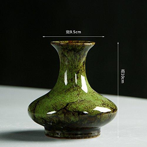 Kuekjcnmx Kiln Glazed Ceramic Vases Chinese Classical Home Decoration Crafts Ornaments Ceramic Vase 5