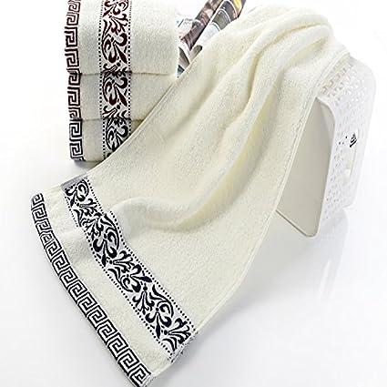 Toalla de cara de algodón agua suave espesa toalla lavado adulto (4 piezas)