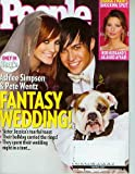 People June 2 2008 Ashlee Simpson & Pete Wentz Fantasy Wedding