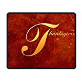Happy-Thanksgiving-Simple Smooth Nice Personality Design Mobile Gaming Mouse Pad Work Mouse Pad Office Pad