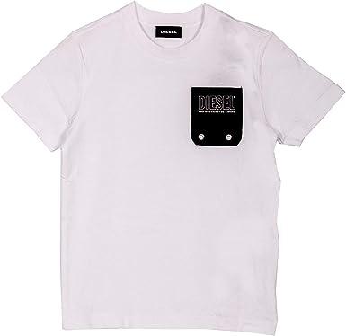 Diesel 00J4PB 0DAYD TBMOW Camisetas Y Camisa DE Tirantes Boy: Amazon.es: Ropa y accesorios