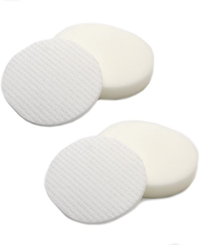 2 Pack Foam & Felt Filter Kit Replacements for Shark XFF80 Navigator Professional NV70, NV80, NVC80C, UV420, NV90 Vacuum Cleaners