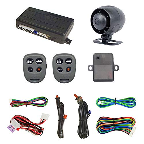 Megatronix VS3030 Car Alarm Remote Vehicle Security System With Keyless Entry
