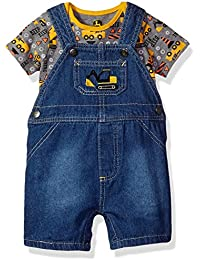 Baby Boys' Bodyshirt Overall Set