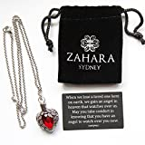 Zahara Memorial Urn Necklace (20 Inches) with