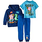 Peppa Pig George Toddler Little Boys 3 pc. Clothing Set (4T)