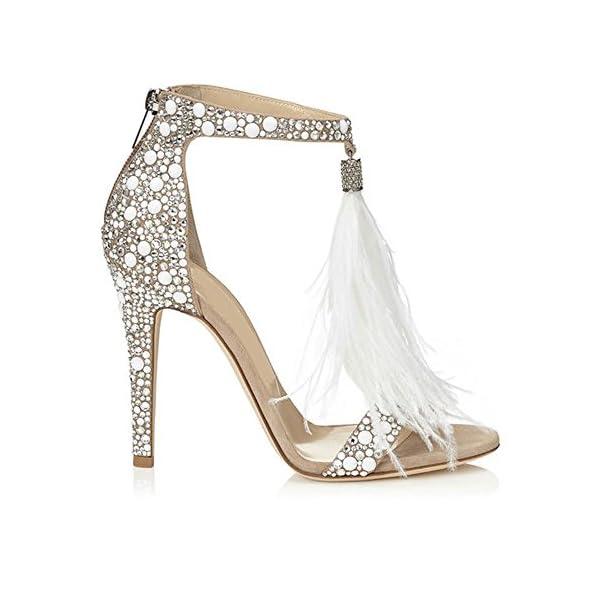 e94cdc154 azmodo Women s Wedding Dress Party   Evening Stiletto Heel Pearl ...