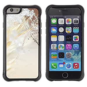 Suave TPU GEL Carcasa Funda Silicona Blando Estuche Caso de protección (para) Apple Iphone 6 / CECELL Phone case / / Snowflake Spring Winter Sun Snow Ice /