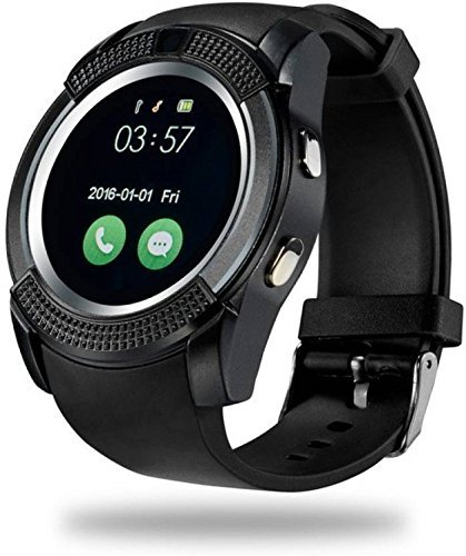 UFIT V8 Smartwatch with SIM and 32 GB Memory Card Slot and