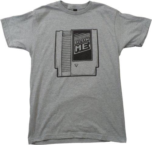 Blow Me   Funny Old School Retro 90s Cartridge Gamer Unisex T-shirt
