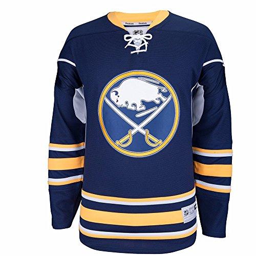 Navy Premier Buffalo (NHL Buffalo Sabres Premier Jersey, Navy, Large)