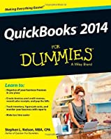 QuickBooks 2014 For Dummies Front Cover