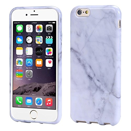 iPhone 6S Plus Case,START Cover Skin For iPhone 6s Plus 5.5inch Marble Texture Print Cover Case - Www Versace
