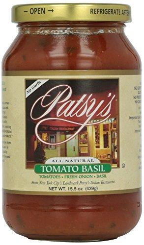 UPC 769719112212, Patsys Tomato Basil Sauce, 15.5 Ounce -- 12 per case.