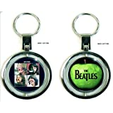 The Beatles Let It Be, Sgt Pepper, Magical Mystery Tour Two Sided Metal Key Chain Key Ring (Let it Be)