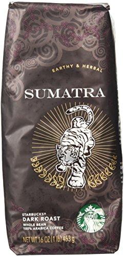 Starbucks Sumatra, In general Bean Coffee (1lb)