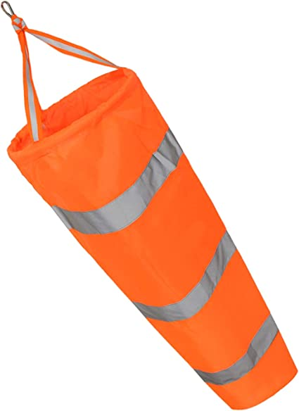 4 SIZE Durable Long Outdoor Airport Windsock Wind Sock with Reflective Belts