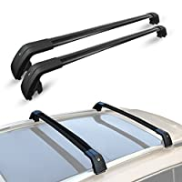 """ALAVENTE 44"""" - 46.5"""" Universal Roof Rack Cross Bar Set with Lock for Most Vehicle with 35mm-45mm(width) integrated side rails"""