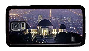 Hipster top Samsung S5 Cases griffith observatory los angeles PC Black for Samsung S5
