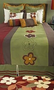 Rizzy Home BT-641K Raleigh 11-Piece Comforter Set, King