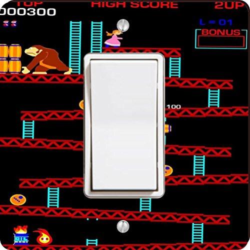 Rikki Knight Retro Donkey Kong Single Rocker Light Switch (Donkey Rocker)