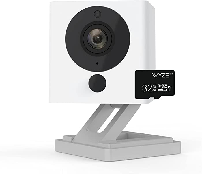 Wyze Cam v2 1080p Indoor Pet Monitoring Camera with Wyze 32GB MicroSD Card Class 10