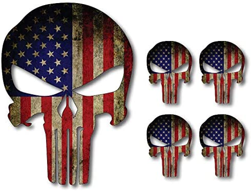 Punisher American Stickers Marines Military product image