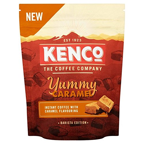 Kenco Caramel Flavoured Instant Coffee 66g