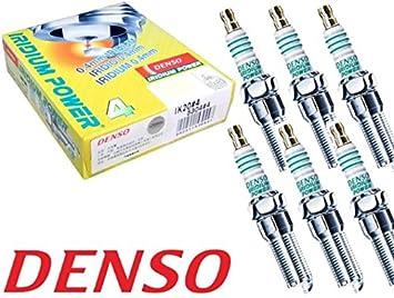 DENSO Iridium Power IK20 5304 Bujías de Encendido, 6 piezas: Amazon.es: Coche y moto
