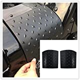 u-Box 2pcs New Upgrade Durable Black Cowl Body Armor for 2007-2016 Jeep Wrangler Jk Rubicon Sahara