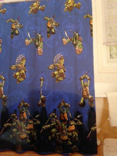 ninja turtle shower curtain hooks - 7