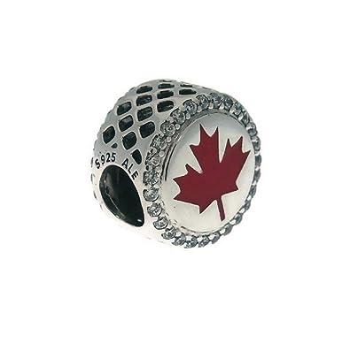 d0b656e4f Amazon.com: Pandora Canada Marquis Charm, Clear Cz, ENG792016CZ_15 ...