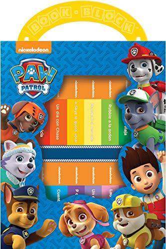 PAW Patrol - Mi primera biblioteca bloque de libros - Conjunto de 12 libros - My FIrst Library Book Bock 12-Book Set - PI Kids (Spanish Edition) (Uno Dos Tres Cuatro Cinco Cinco Seis)