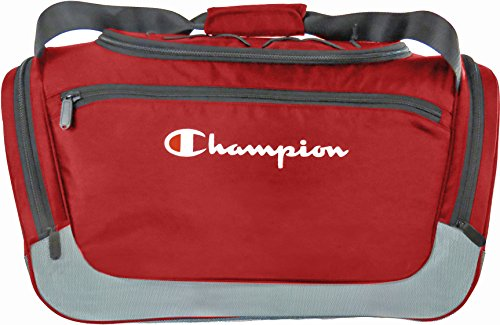 Champion Boost Large Duffle, Red/Granite