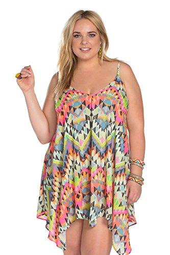 Becca-ETC-Womens-Plus-Size-Cayenne-Woven-Dress-Cover-Up-1X-BeccaEtc16CayenneMlt