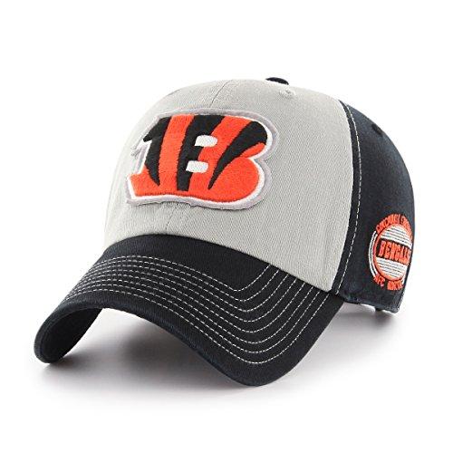 NFL Cincinnati Bengals Adult Tuscon Ots Challenger Adjustable Hat, One Size, Black ()