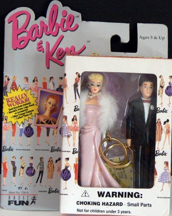 BARBIE + KEN Keychain Set - Enchanted Evening