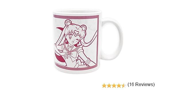 ABYstyle Sailor Moon and Luna Taza Cer/ámico Multicolor