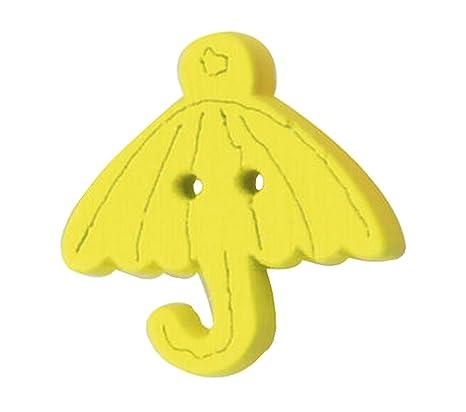 Conjunto de 60, Botones del suéter del bebé botones decorativos de dibujos animados paraguas,