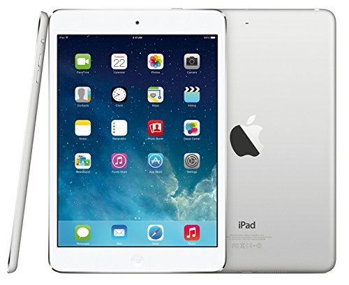 Apple iPad Air 16GB Silver Retina Display Wi-Fi +4G AT&T Tablet(Renewed)