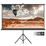 Best Portable Projection Screens - Projector Screen with Tripod Stand – FEZIBO 100 Review