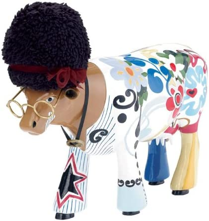 L 30x20cm Woodstock - #46702 R/ésine Cowparade Vache