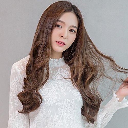 Amazon Com Semi Caps Long Curly Hair Wig Women Girls