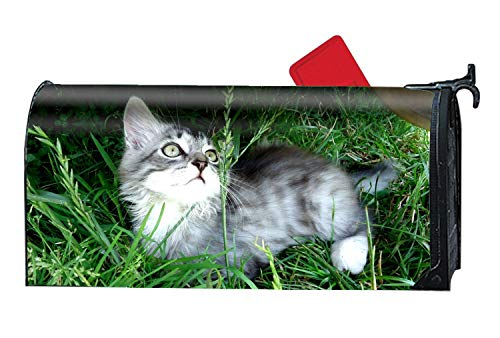 XPNiao Animal Cats Mailbox Cover Vintage Mailbox Wrap Decorative Makeover for Standard Size by XPNiao