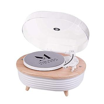Tocadiscos colorido con 2 velocidades (33/45 rpm) reproductor de ...