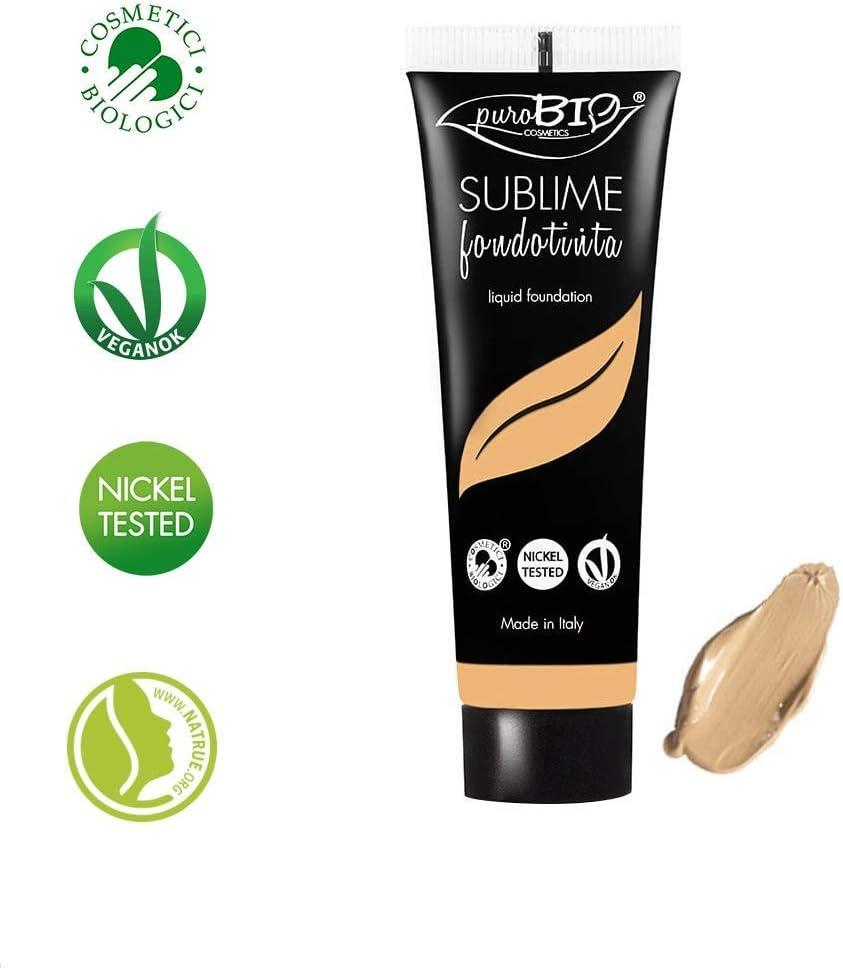PuroBio de Yumi Bio Shop - Base de maquillaje fluida, orgánica, vegana y sin parabenos